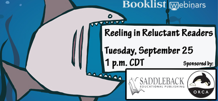 Reeling in Reluctant Readers webinar