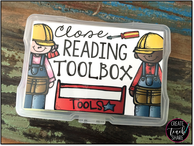 Close Reading Toolbox