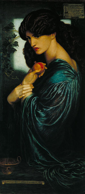 Woman with a pomegranate: the story behind Rossetti's portrait