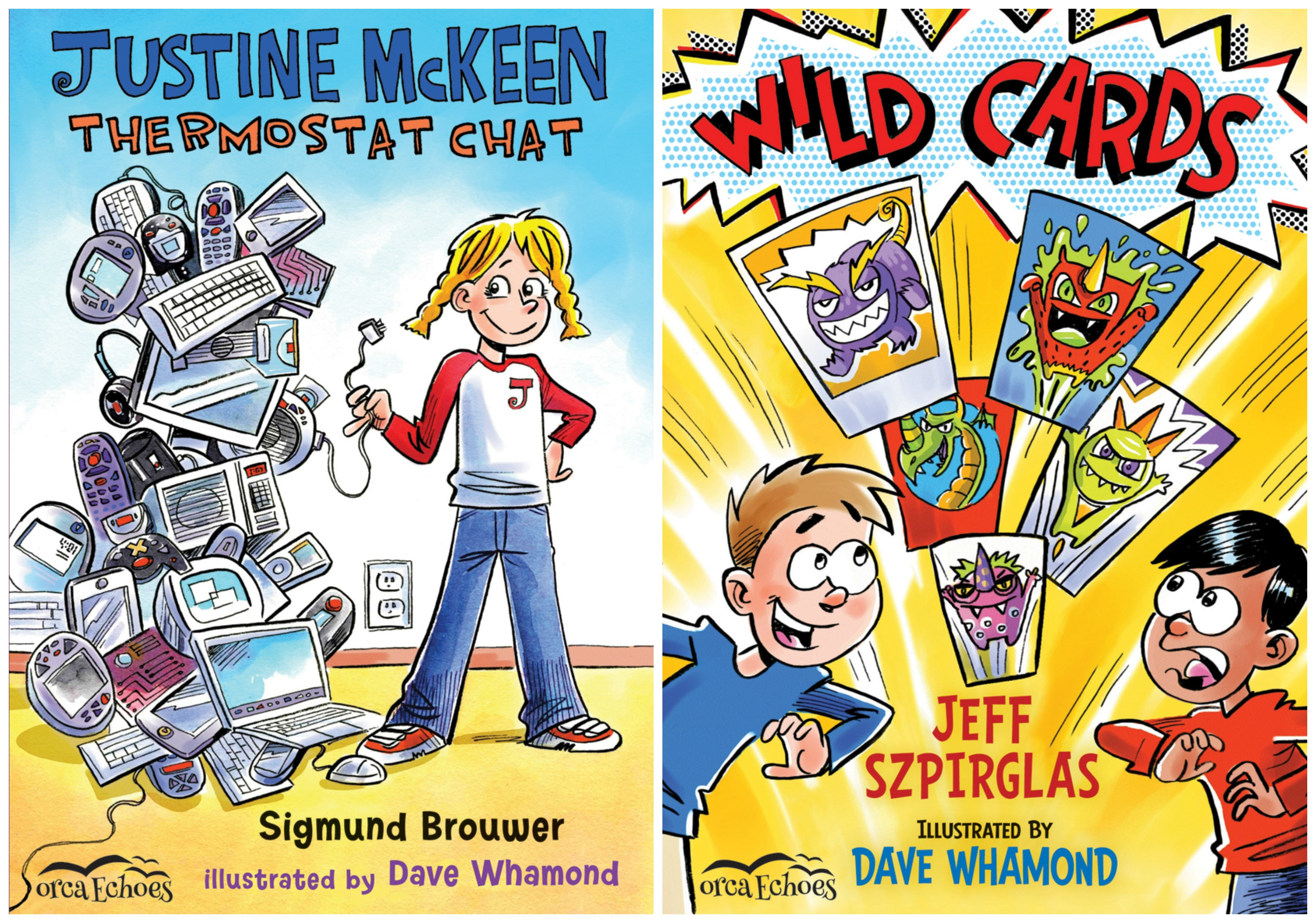 Illustrator Feature: Dave Whamond