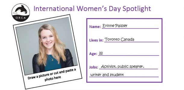 Classroom Activity: International Women's Day