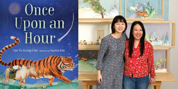 Guest Post: Ann Yu-Kyung Choi on using animals to tell time in Once Upon an Hour