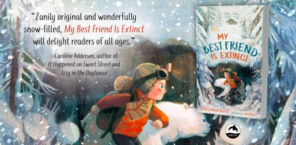 Watch the new book trailer for My Best Friend Is Extinct!