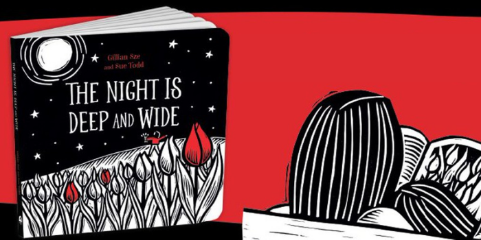 A starred review for The Night Is Deep and Wide!