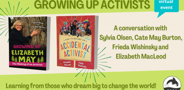 Growing Up Activists: Watch the panel or read the transcript!