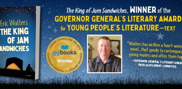 The King of Jam Sandwiches is a Governor General's Literary Award winner!