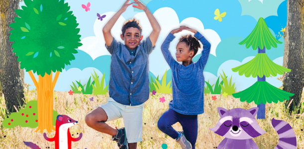 Children's yoga book teaches kids how to manage big emotions